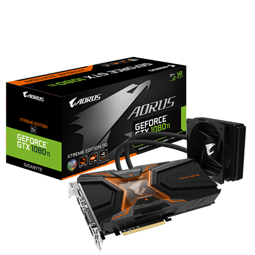 AORUS GeForce® GTX 1080 Ti Waterforce Xtreme Edition 11G