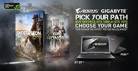 "The Best Choice Laptop ""For Honor game and Tom Clancy"""