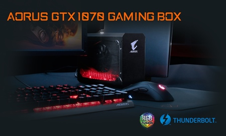 AORUS GTX 1070 Gaming Box Released